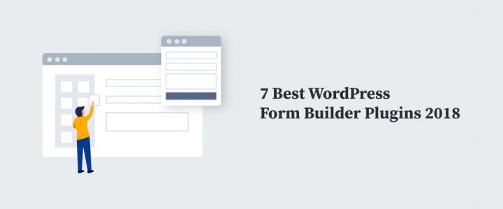 7个最好的WordPress表单生成器插件2019