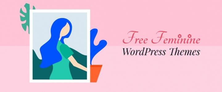 21 +最佳免费女性WordPress主题与优雅设计2019年